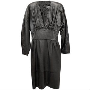 North Beach Leather Michael Hoban leather dress
